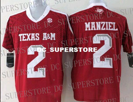 $enCountryForm.capitalKeyWord NZ - Cheap Texas A&M Aggies Johnny Manziel #2 Football Jersey XS-3XL