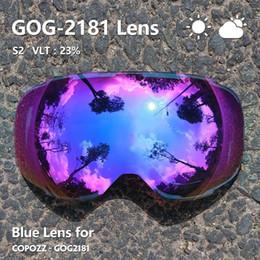 $enCountryForm.capitalKeyWord Australia - Magnetic Lenses For Ski Goggles Gog-2181 Lens Anti-fog Uv400 Spherical Ski Glasses Snow Snowboard Goggles(lens Only)