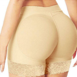 ingrosso fianchi imbottiti mutandine di testa-Hot Selling femminile Butt Shaper Pants Sexy Mutandine Boyshort Intimo donna Push Up Imbottito Mutandine Natiche Shaper Butt Lifter Hip Enhancer