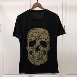 $enCountryForm.capitalKeyWord Australia - 2019 Summer New Men T-Shirts Skull diamond Stylish Design Men s T Shirts Casual 100% Cotton Short Sleeve Tees