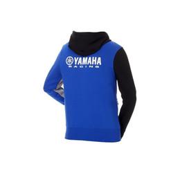 2018 sudadera para MotoGP Yamaha M1 Racing Paddock azul con capucha suéter chaquetas tamaño azul S-XXL111