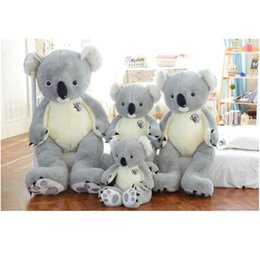 Cute large plush toys online shopping - Large Koala Plush Toys Cute Soft Stuffed Doll cm cm Gifts For Children Birthday Girls Women Popular yh D1