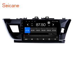 Discount toyota car gps navigation corolla - 10.1 Inch HD touchscreen Android 7.1 Car GPS Navigation Radio for 2014 Toyota Corolla RHD with Bluetooth WIFI Support St