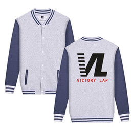 Wholesale Nipsey Hussle all money Jackets Men Women Teenager Baseball Jacket Victory Lap Letters Button Designer Coats