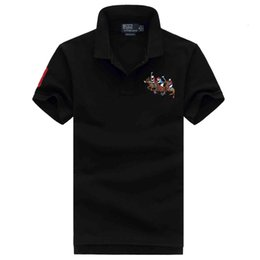 $enCountryForm.capitalKeyWord Australia - NEW ralph Polo t shirt lauren mens polos t shirt brand luxury shirts man designer clothing t shirts Embroidery Pony mark quality polos tees