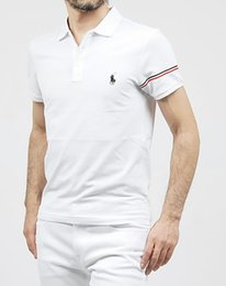 $enCountryForm.capitalKeyWord Australia - POLO Ralph American Classic style design men's cotton double buckle polo shirt fashion avant-garde factory direct