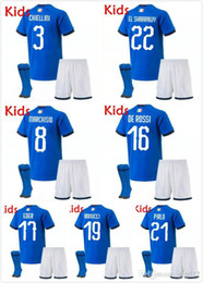 $enCountryForm.capitalKeyWord NZ - Italy European Cup kids kit Soccer Jerseys 19 20 De Rossi Bonucci Verratti Chiellini INSIGNE Belotti Jerseys 2019 Italy Football Uniform