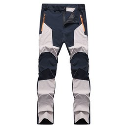 37ab2135ba8 LOMAIYI Elastic Waterproof Men s Sweatpants Spring Autumn Male Slim Fit  Work Trousers Joggers Khaki Tactical Men Pants AM042