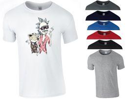Men S Top Christmas Gifts Australia - Rick and Morty T Shirt Smoking Rick Pickle Funny Christmas Xmas Gift Men Tee Top Funny free shipping Unisex Tshirt