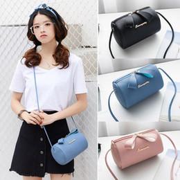 Durable Phones Australia - 1 Pcs Women Lady Girl Shoulder Crossbody Bag Zipper Pu Leather Durable For Mobile Phone Fa$3