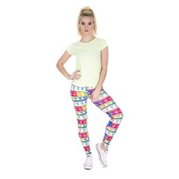 $enCountryForm.capitalKeyWord NZ - Girls Leggings Winter Rainbow 3D Graphic Full Print Spring Summer Autumn Jeggings Women Stretchy Pencil Pants Lady Workout Trousers (Y37551)