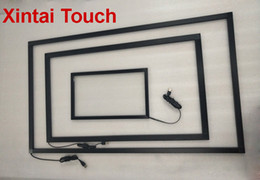 touch screen monitor free shipping Australia - Free Shipping! Xintai 17 inch IR touch frame 10 points infrared touch screen panel multi touchscreen overlay for monitor pc