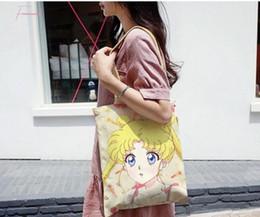 Wholesale nude cosplay resale online - Cardcaptor Card Captor Sakura Girl Handbag Sailor Moon Cute Shoulder Bag Tote Lolita Cosplay Messenger Travel Bags