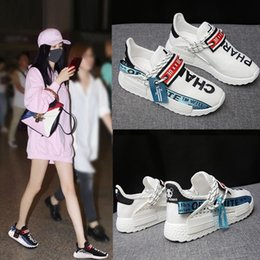 Ingrosso Magical2019 Summer Woman Sneakers Original Old Ventilation Joker Ins Exceed Fire Real Piccolo Bianco Papà Scarpe