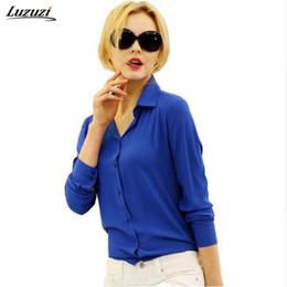 $enCountryForm.capitalKeyWord Australia - Hot Sale Women Chiffon Blouse Long Sleeve Shirt Women Tops Office Lady Blusas Femininas Camisas Mujer Z231