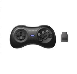 8BitDo M30 2.4G Kablosuz Gamepad Akıllı Oyun Denetleyicisi Joystick Sega Genesis Mega Drive Stil PC Windows Için