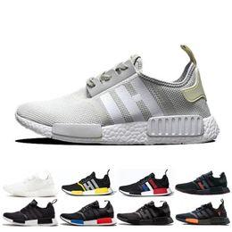 375f5acf9 NMD R1 Oreo Runner Primeknit OG Triple Black White Camo Running Shoes For  Men Women Sports Trainers Designer Shoes Sneakers EUR 36-45