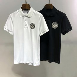 Polo Shirt Simple NZ - New summer lapel short-sleeved Polo shirts for men fashion comfortable high quality cotton simple style