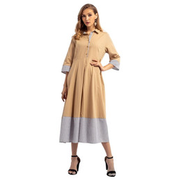 $enCountryForm.capitalKeyWord UK - Women's Explosives Muslim Autumn Winter New Medium Long Dress Pakistani Clothing