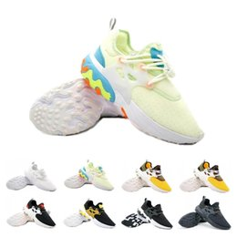 ShoeS flat feet men online shopping - Top Sale Presto Mid Epic React Men Women Running Shoes Comfortable Foot Feel Mesh Breathable Sneakers Black White Casual Shoes