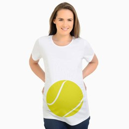$enCountryForm.capitalKeyWord NZ - Ins Export hit Popular export English print summer fashion maternity dress clothes large size pregnant woman fun Ball baby Boy Mommy shirts