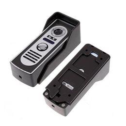 Security SyStem doorbell online shopping - New Wired Video Video Door Phone System Doorbell Intercom TVL Outdoor IR Camera Home Security Door Camera