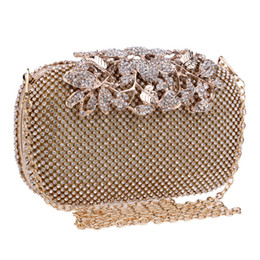 High End Hand Bags Australia - 2019 Manufacturers directly sell Ying Power's cross-border explosive banquet bags for high-end diamond banquets evening bag in hand