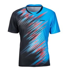 $enCountryForm.capitalKeyWord Australia - Clothing for Men T Shirts Badminton Shirts Breathable Quick Dry Tennis T Shirt Sportswear High Quality