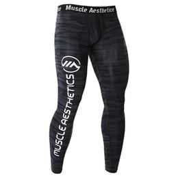49311b424a725d Men White Running Tights Australia - New Compression Pants Running Tights  Men Training Fitness Sport Leggings