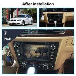 radio antenna auto UK - DSP Android 9.0 Car GPS Navigation DVD Player For BMW E90 E91 E92 E93 Seloon 2005-2011 auto radio player multimedia Stereo unit