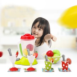 toy kitchen sets for kids NZ - Assorted Kid kitchen toys Set Appliance Toys Blender Kitchen Accessories Pretend Play toy for children Ship from US Dropshipping