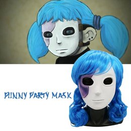 mask dress up NZ - Sally's Face Mask Cosplay Masquerade Dress Up Props For Men And Women Game Around Carnival Decoration Halloween Mask Party Props
