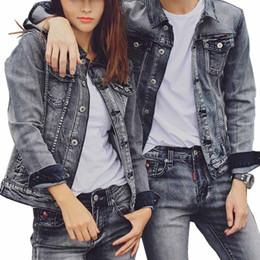 Korean Motorcycle Jacket Australia - Mcikkny Korean Style Men's Denim Jackets Slim Fit Motorcycle Trucker Jeans Jackets Spring Autumn Couples Streetwear Coats