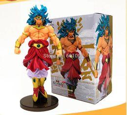 Figures Australia - Brolly Dragon Ball Z Broly 21CM Super Saiyan Anime DBZ Tenkaichi Budokai PVC Action Figures Doll Retail Y190529
