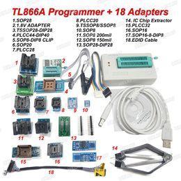 $enCountryForm.capitalKeyWord NZ - Freeshipping Newest TL866A USB Programmer +18 Adapters EPROM FLASH BIOS 18 Universal Adapter + EDID code