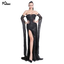 $enCountryForm.capitalKeyWord Australia - Evening Dress Long Brilliant 2019 New Women's Elegant Evening Dress With V-neck With Sequins Mermaid Maxi