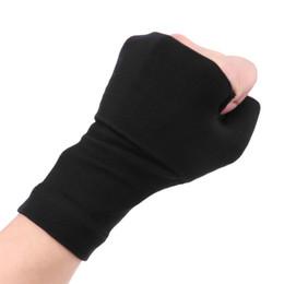 8348ef6381 1Pair Wrist Support Compression Half Gloves Wrist Guard Arthritis Brace  Sleeve Medical Elastic Palm Hand Fitness Sleeve Wrap #270945