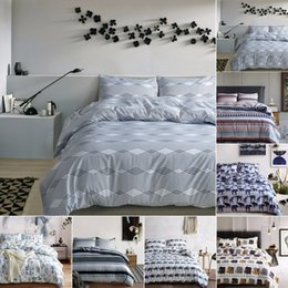 Discount luxury super king bedding set - France Paris Tower Classic bedding set Super Soft Bedclothes Flowers Printed Quilt Bedding Set Luxury Cover Soft Home Te