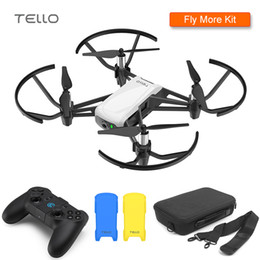 rc quadcopter toy 2019 - DJI Tello Drone & Ca'se & GameSir T1d Cover 720P HD Transmission Camera APP Remote Control Folding Toy FPV RC Quadc