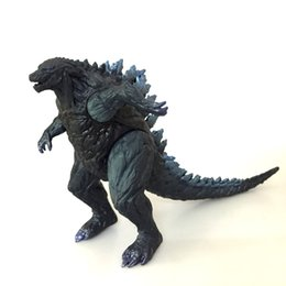 Discount toys godzilla - 17CM Godzilla 2 Action Figure Doll toys 2019 New kids movie Godzilla: King of the Monsters dinosaur monster Toy B11