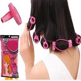 Curling Hair Foam Rollers Australia - Hair Styling 6PCS Curler Makers Soft Foam Bendy Twist Curls DIY Styling Hair Rollers Drop Ship 70830