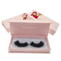 a771eea6cc7 3D Mink False Eyelashes Natural Long Cross Fake Eye Lashes Handmade Thick Mink  Eyelashes Christmas Gift 1 Pair LJJR918