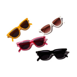 Driving Mirrors UK - Cool Women's Large Frame Sunglasses Solid Color Glasses Driving Men Women Beach Mirror Sunglasses Driving Mirror Sunglasses
