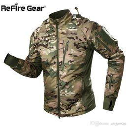 $enCountryForm.capitalKeyWord Australia - Refire Gear Waterproof Tactical Jacket Men Spring Camouflage Combat Jackets Army Warm Windbreaker Anti-Skid Hooded Coat