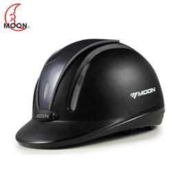 Опт 2019 Moon новый конный инвентарь конный шлем езда профессиональный шлем для мужчин и женщин конного снаряжения