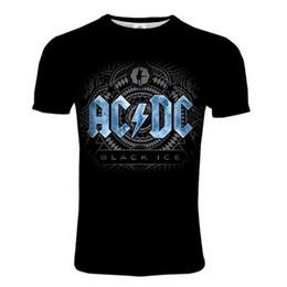 $enCountryForm.capitalKeyWord Australia - AC DC short sleeves t-shirt men Fashion doodle Print ADI t shirt funny t shirts men tops tees casual tshirt men 3d tshirts