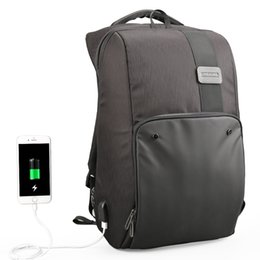 $enCountryForm.capitalKeyWord UK - 15.6 17 Inches Man Multi-functional backpack External Charging USB Laptop Backpack Anti-theft students Waterproof Travel bags