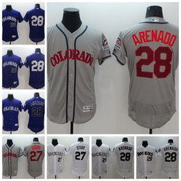 New chat online shopping - 2018 NEW Jersey Colorado Mens Trevor Story Nolan Arenado Rockies Baseball Jerseys Customized chats with me in private