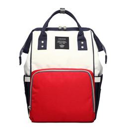 Discount nurse bedding sets - 2018 Fashion Large Capacity Nappy Bag Waterproof Travel Storage Backpack for Student Mom Nursing Bag Baby Care Stroller