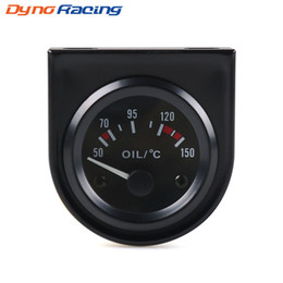 "$enCountryForm.capitalKeyWord NZ - 2"" 52mm Oil temp gauge Universal 50~150 C Auto Oil temperature gauge White Led Car meter"